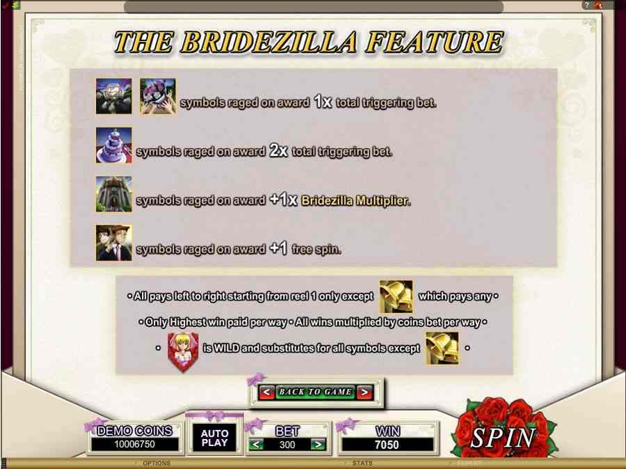 Bridezilla Bonus feature