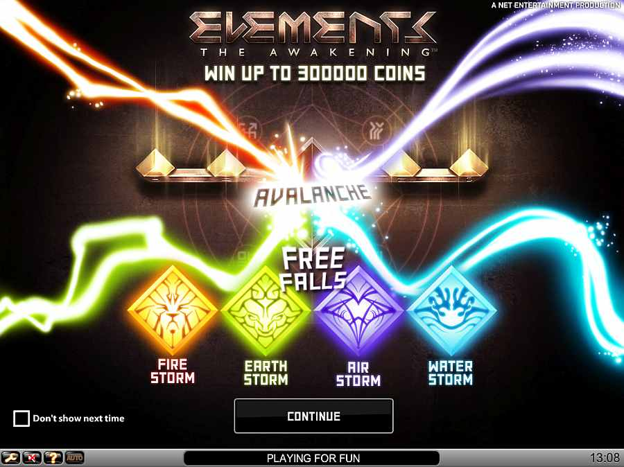 Elements Splash Screen