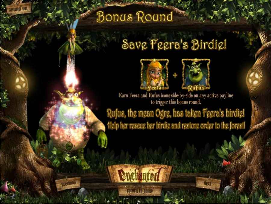 Bonus Round Feature