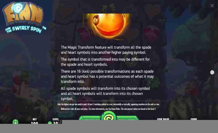 Magic Transform Feature