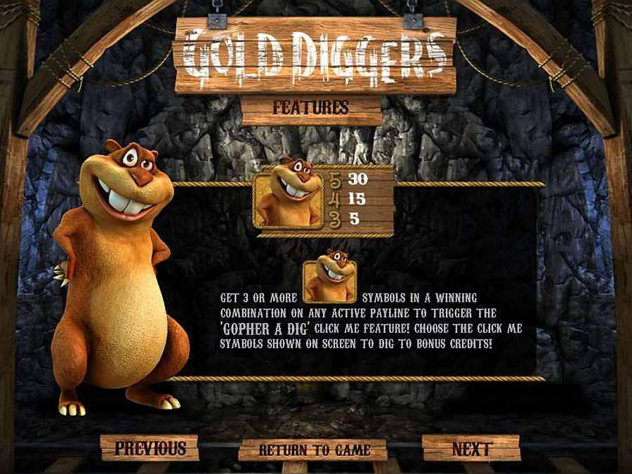 Gopher a Dig Bonus Feature