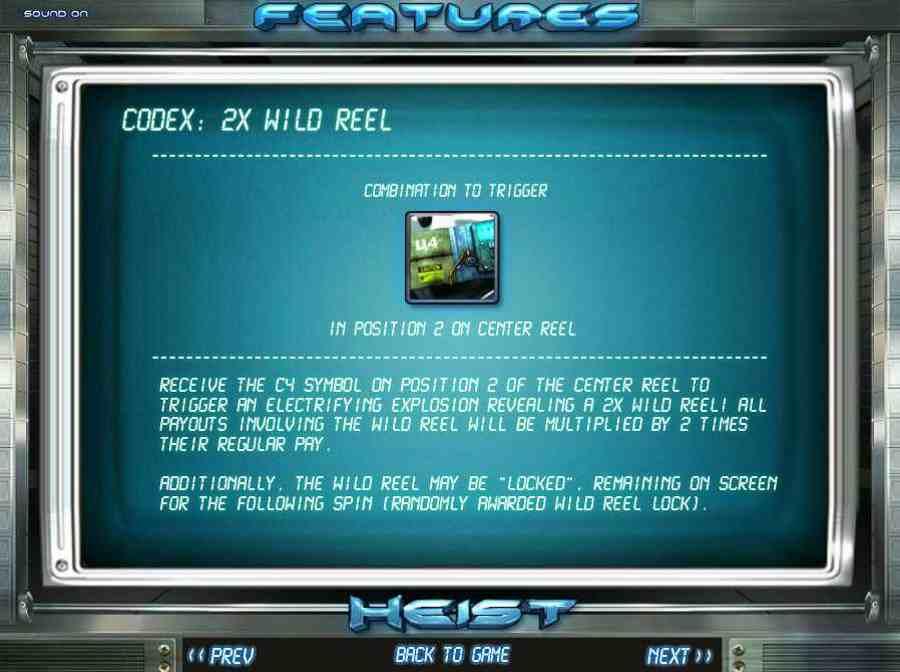 2x Wild Reel Feature