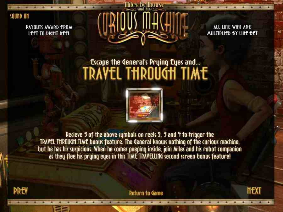 Travel Through Time Feature