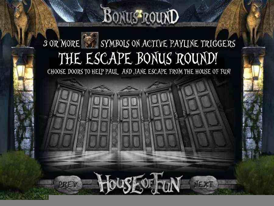 Escape Bonus Round Feature