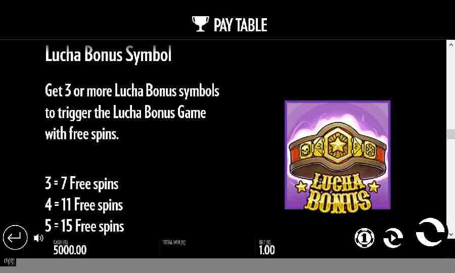 Luchadora Bonus Symbol