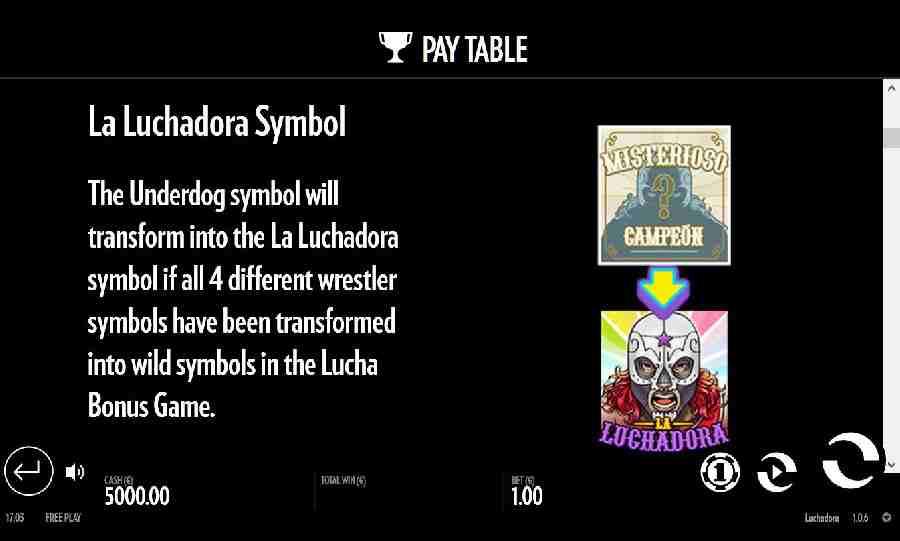 La Luchadora Symbol
