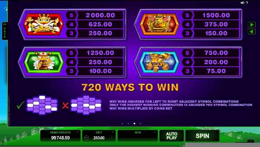 720 Ways To Win