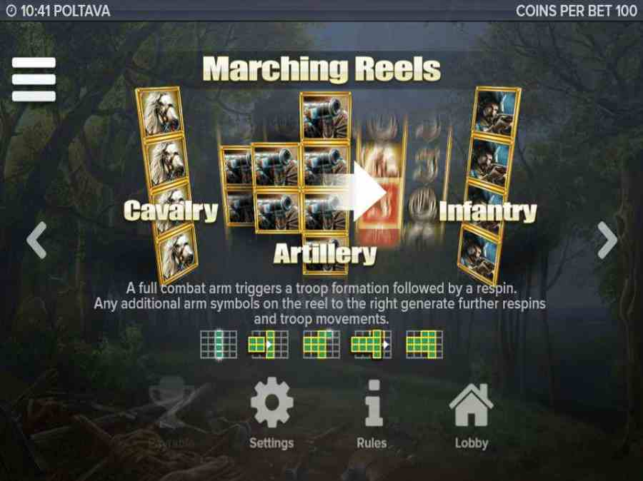 Marching Reels Feature