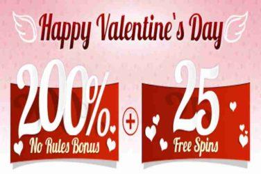 Ruby Slots Eternal Love Code: LOVE200
