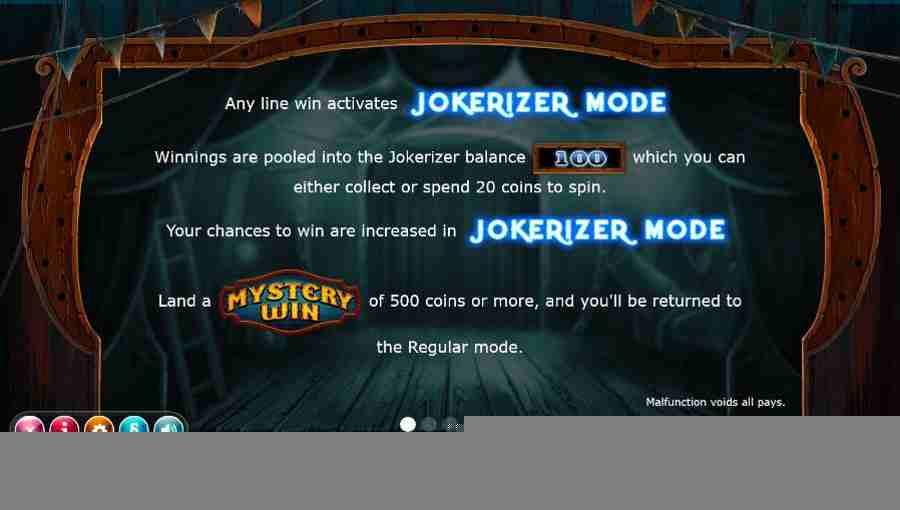 Jokerizer Mode Activates