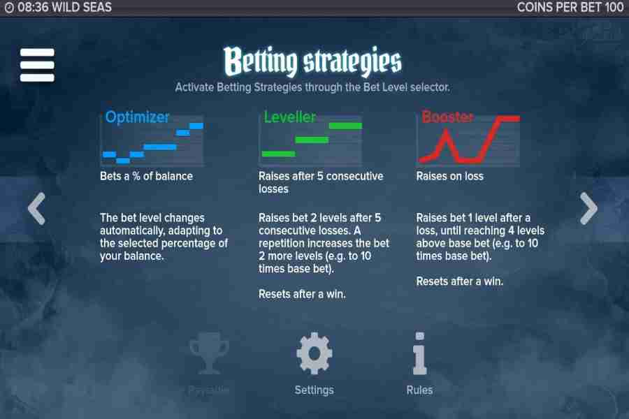 Wild Seas Betting Strategies