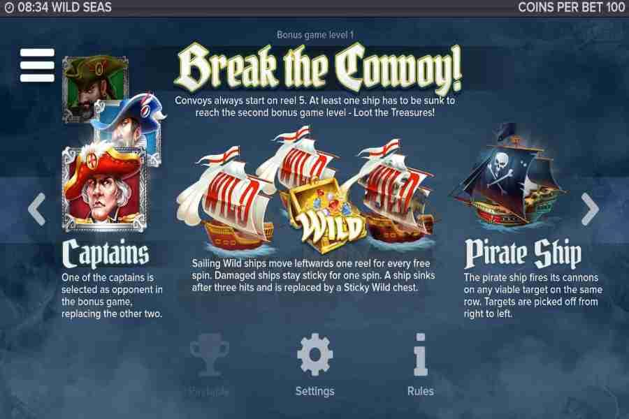 Wild Seas Break The Convoy