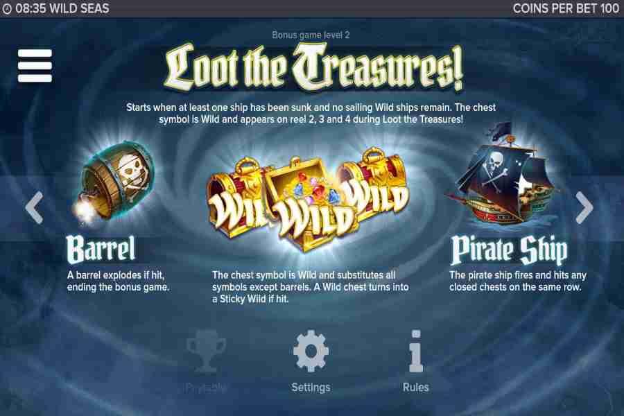 Wild Seas Loot The Treasures