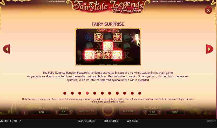 Red Riding Hood Fairy Surprise