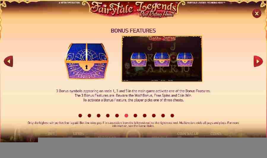 Red Riding Hood Bonus Features