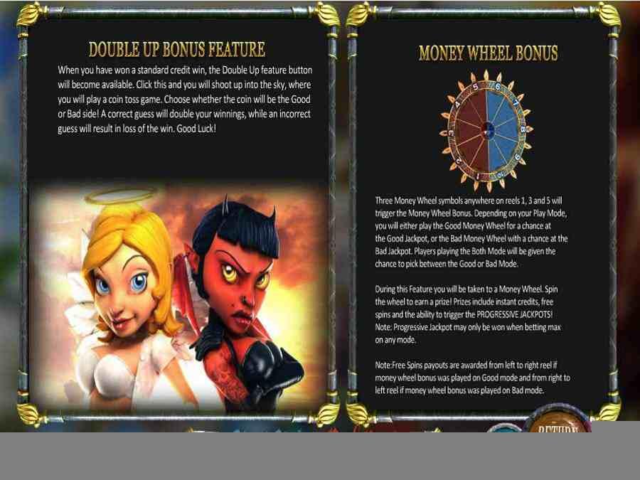 Double & Money Bonus Feature