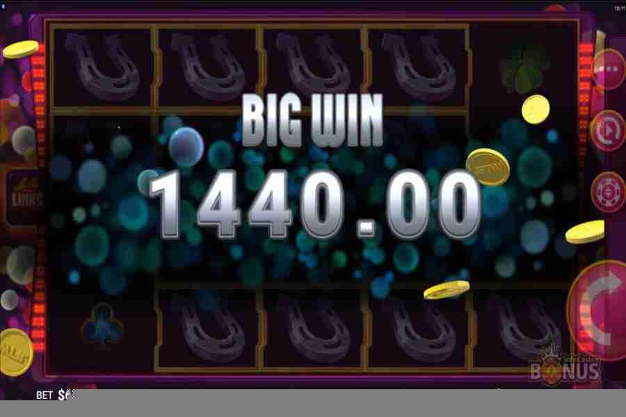 Lucky Links Slot Big Win