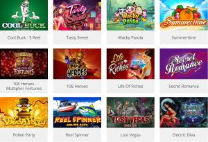 Microgaming slot games
