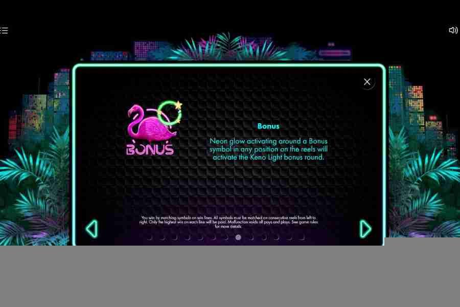 Neon Jungle Bonus Symbol