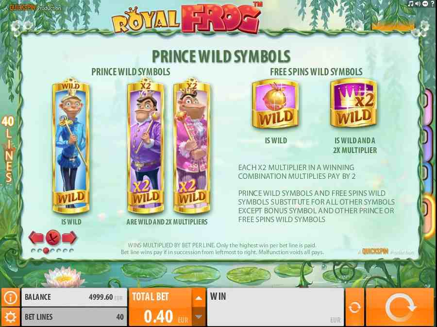 Prince Wild & Free Spins