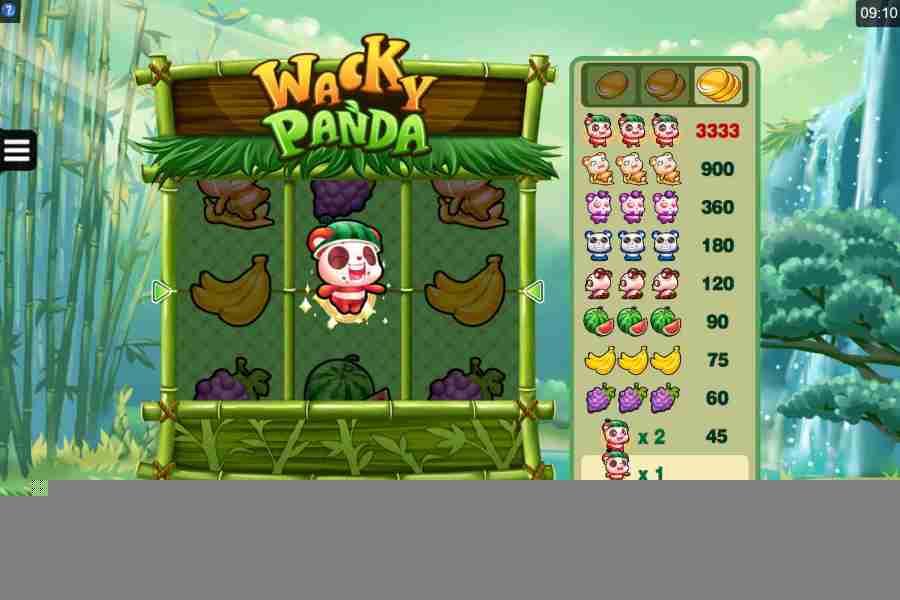 Wacky Panda Win
