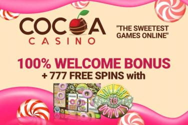 Cocoa Welcome Bonus Free Spins Code
