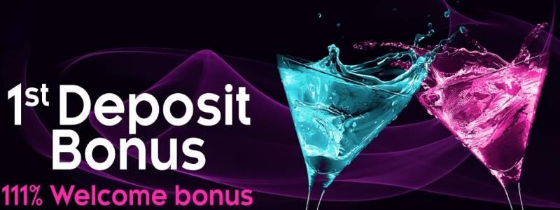 CryptoSlots Casino 111% Welcome Bonus