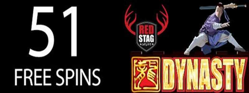 Red Stag Dynasty Free Spins Code