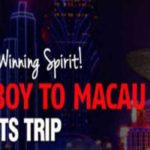 Red Stag Win a Trip to Macau Raffle