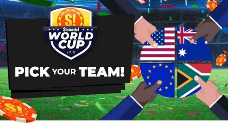 Slotastic World Cup bonuses
