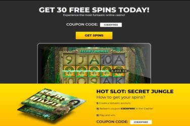 Slotastic Exclusive Free Spins bonus