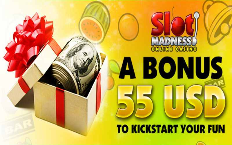 slot madness casino bonus code