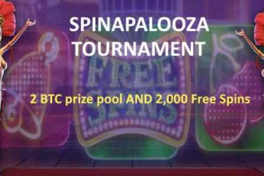 CryptoWild Spinapalooza 2 BTC Tournament