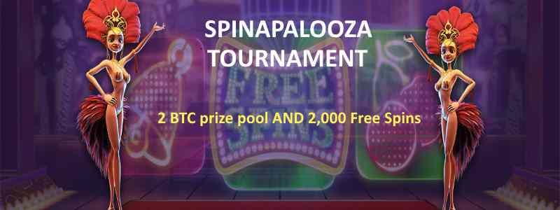 CryptoWild Spinapalooza 2 BTC Tournament