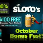 SlotoCash Casino October Fest Bonus Codes