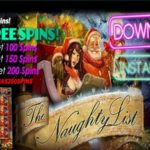 Uptown Aces The Naughty List Free Spins
