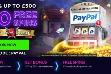 Vegas Spins Deposit Bonus Using PayPal