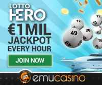 Lotto Hero €1 mil jackpot available