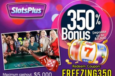 Slots Plus Deposit Code FREEZING350