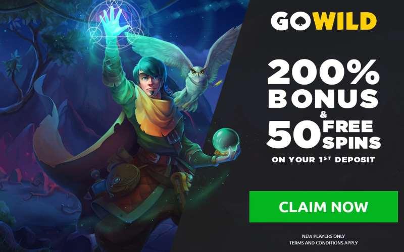GoWild Dark Vortex Bonus Spins