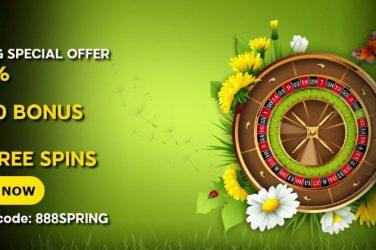 888 Casino Special Spring Bonus Code
