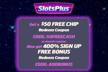 Slots Plus Casino Spring Bonus Codes