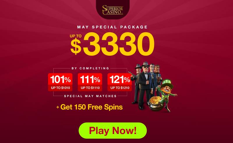 Superior Casino Mother's Day Bonuses
