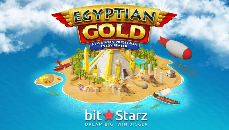 Win a Trip to Cairo and €50,000 in Egyptian Gold