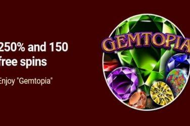 Grande Vegas Gemtopia Bonus Code