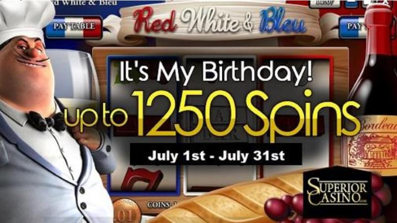Casino Manager Birthday Free Spins Event