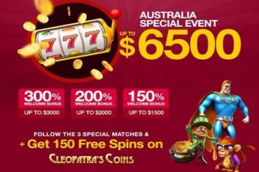 Australia Big Match Bonus Offer