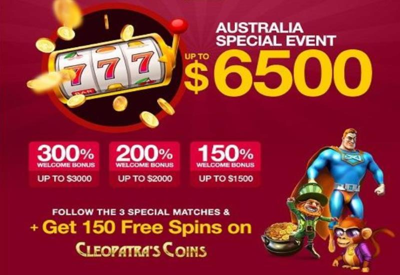 Australia Big Match Bonus Offer