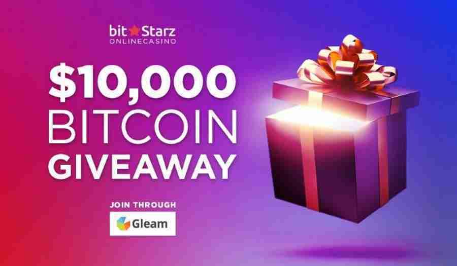 BitStarz is giving away $10,000 Bitcoin!