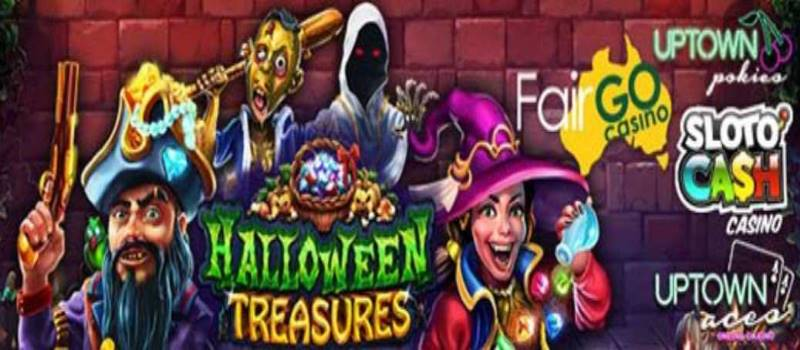 Halloween Treasures Bonus Spins Codes